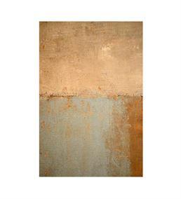 Soyut Altın Mavi 20x30 cm Kanvas Tablo