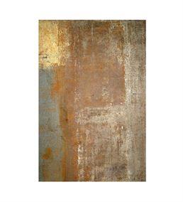Soyut Altın Mavi Geçişli 20x30 Kanvas Tablo