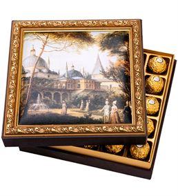 Sultan Ahmet Camii Çerçeveli Çikolata Kutusu