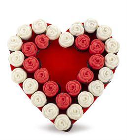 Tatlı Aşk Lezzetli Kek Buketi Aranjmanı
