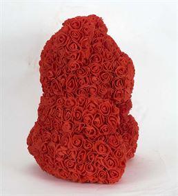 Teddy Bear Rose Kırmızı Solmayan Gül (40cm)