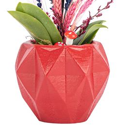 Trigon Serisi -  Lavantalı  Mini Orkide Tasarım