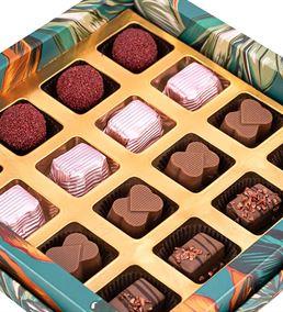 Tropical Leaf Serisi Mix Çikolata Kutusu - 17