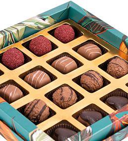 Tropical Leaf Serisi Mix Çikolata Kutusu - 1