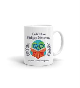 Türk Dili ve Edebiyatı Öğretmenine Hediye Kupa