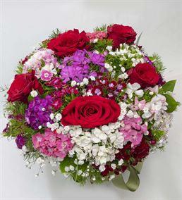 Yaz Sevgisi Akvaryum Vazoda Mevsim Çiçekleri