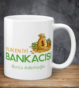 Yılın Bankacısı Kişiye Özel Kupa