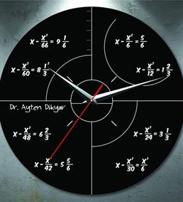 Arkadaşa Hediye Matematik Duvar Saati