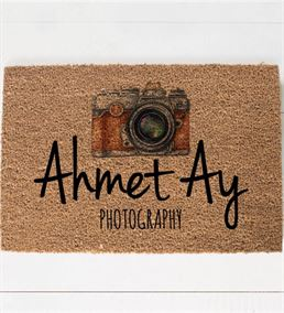 Fotoğrafçılara Özel Tasarımlı Stüdyo Kapı Önü Pasp