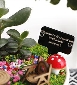 Kişiye Özel Hediye Mutluluk Bahçesi