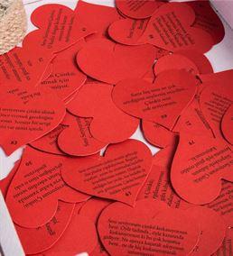 Seni Seviyorum Çünkü Mesaj Kartları