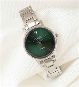 Silver Renk Metal Kordonlu Yeşil Renk İç Tasarımlı