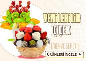 Lezzetli Meyve Sepeti Aranjmanları!