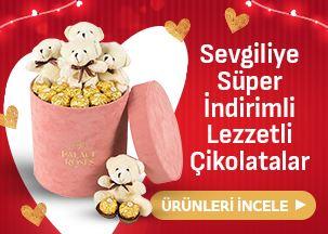 Sevgiliye Süper İndirimli Lezzetli Çikolatalar