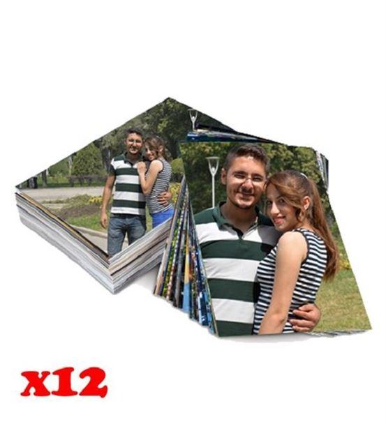12 Adet Fotoğraf Çıktısı 10x15
