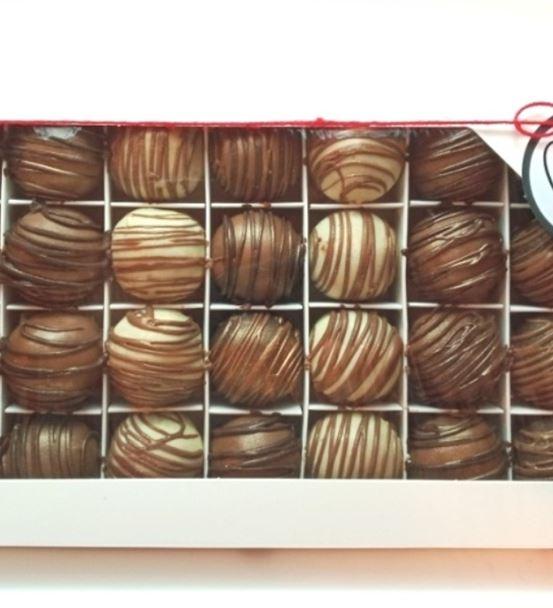 28'li Çikolatalı Truff Kutusu