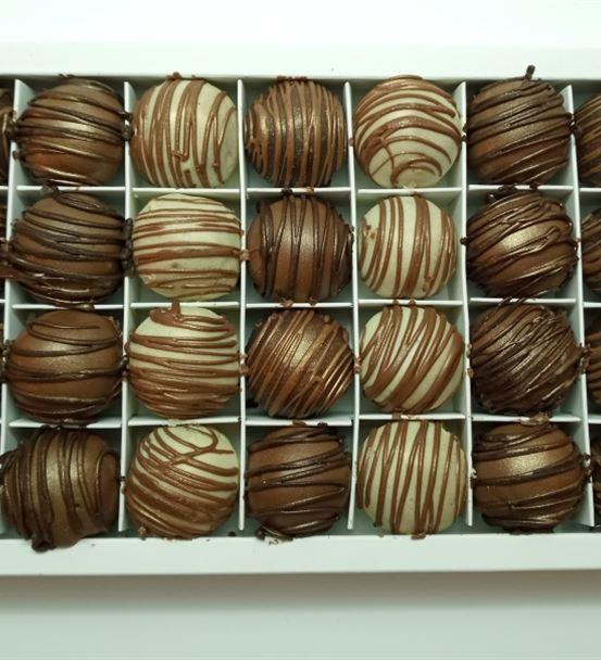 8'li Çikolatalı Truff Kutusu