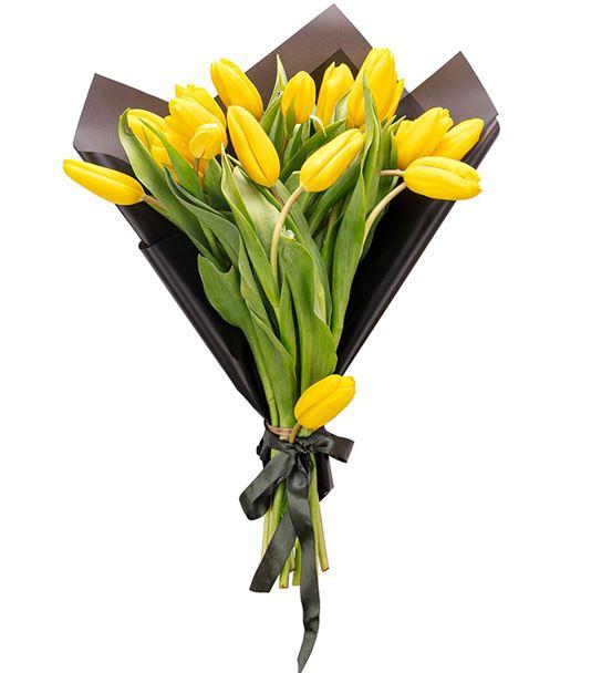 Alaina Serisi Sarı Lale Buketi