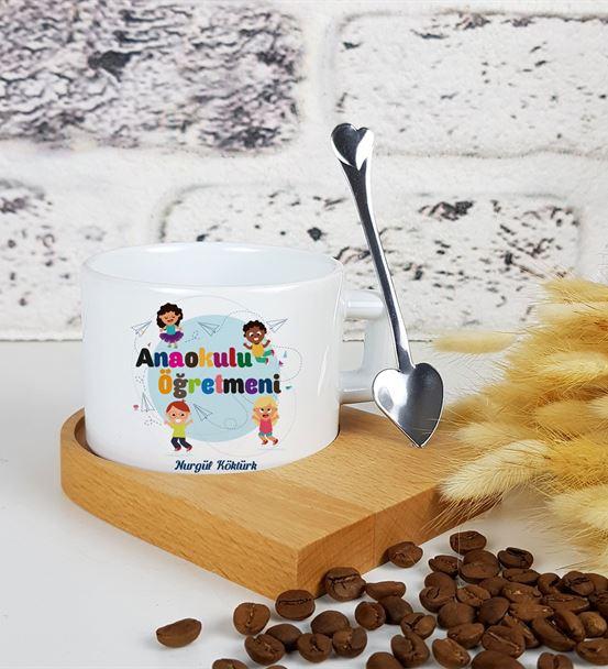 Anaokulu Öğretmeni Kahve Fincanı