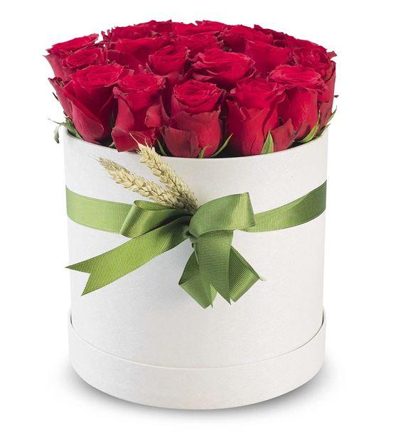 Aşkın Simgesi Kutuda 20 Güller
