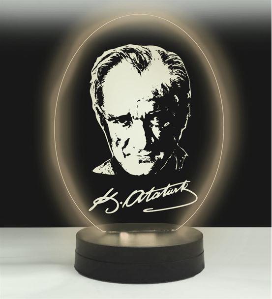 Atatürk 3D Led Gece Lambası
