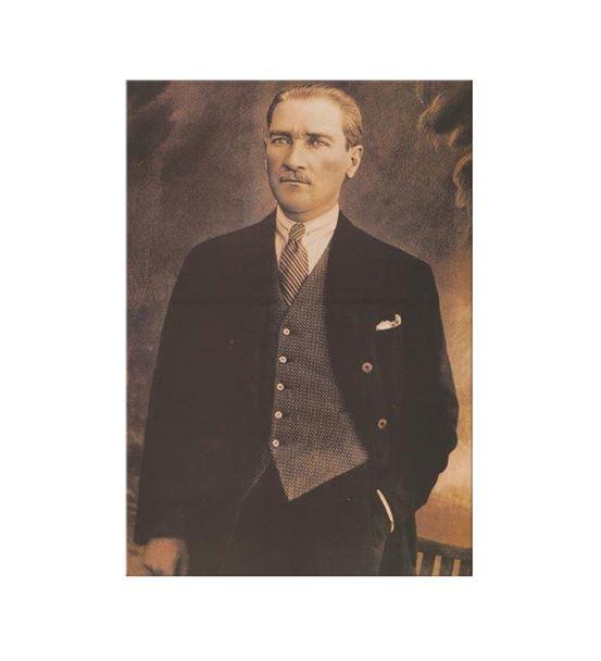 Atatürk Kanvas Tablo 35x50cm
