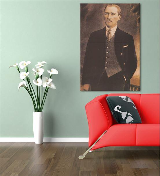 Atatürk Kanvas Tablo 60x90cm