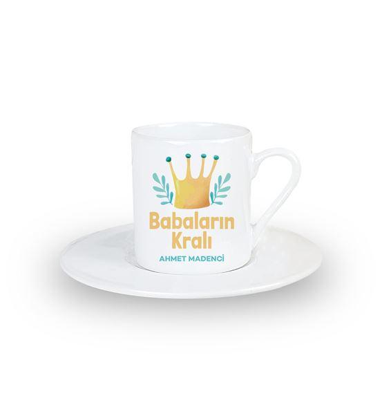 Babalar Günü Hediyesi Babaların Kralı Türk Kahvesi