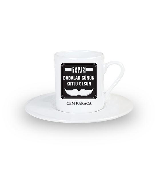 Babalar Günün Kutlu Olsun İsme Özel Türk Kahvesi F