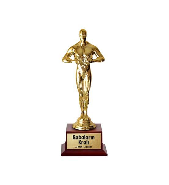Babaların Kralı İsme Özel Oscar Ödülü Büyük Boy
