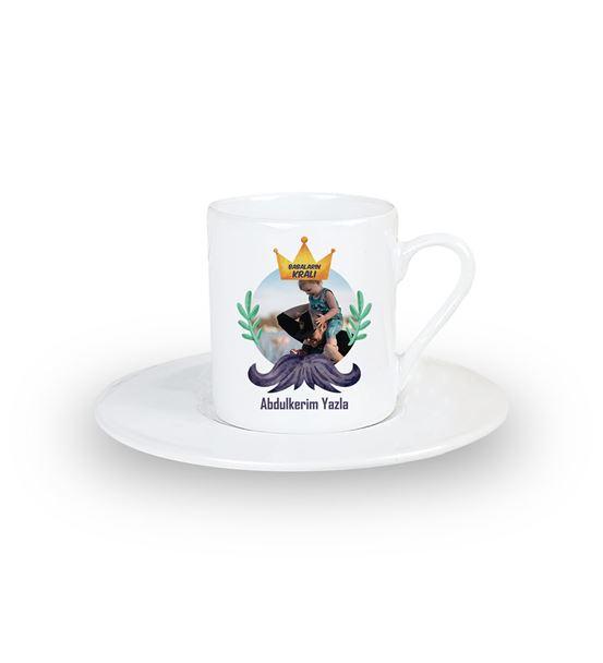 Babaların Kralı Kişiye Özel Kahve Fincanı