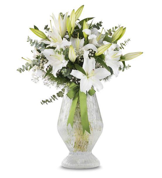Büyük Mutluluk Beyaz Lilyumlar