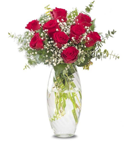 Canım Aşkıma 9 Kırmızı Güller