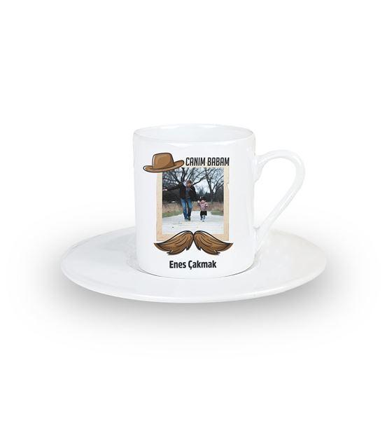 Canım Babam Kişiye Özel Kahve Fincanı