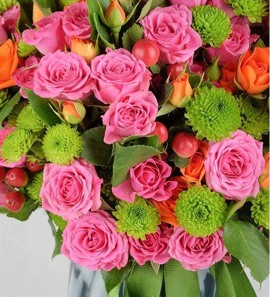 Çardak Güllerle Renklerin Buluşması