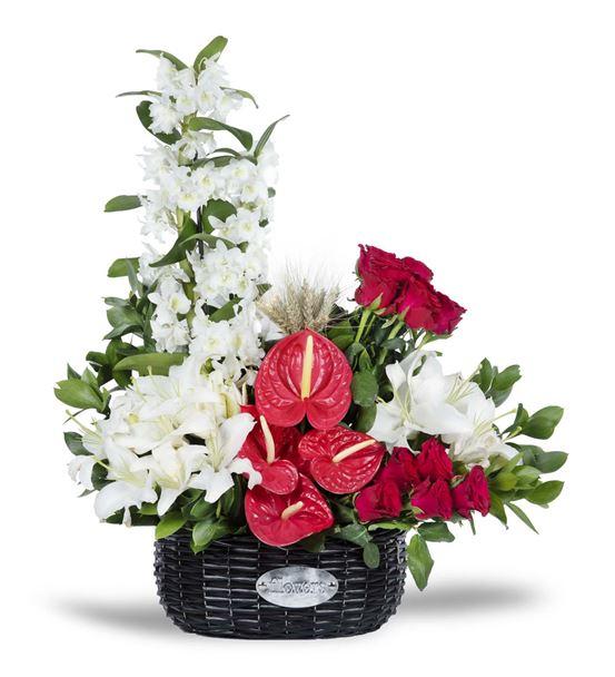 Çiçek Sepetinde Milano Marittima Flowers