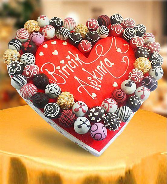 Çikolatalı Aşkıma lezzet topları