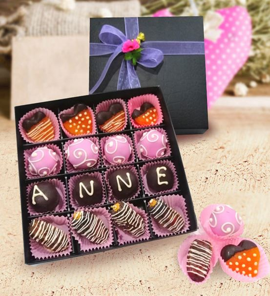 Çikolatalı Hurma Kayısı Kutusu
