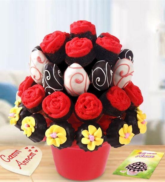 Çikolatalı Leziz Sürpriz Çiçek