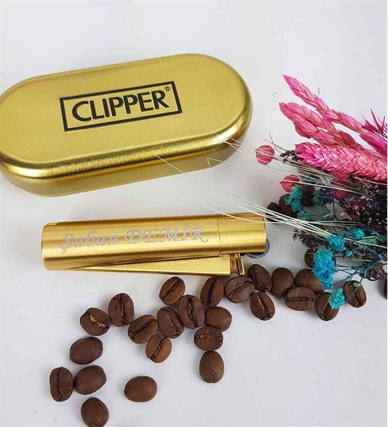 Clipper Çakmak İsme Özel Clipper Marka Garantili Ç