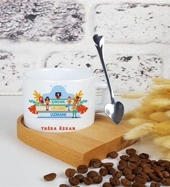 Çocuk Gelişimi Uzmanına Hediye Kahve Fincanı