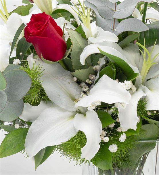 Cumbre Vieja Mis Kokulu Tasarım Çiçek Aranjmanı