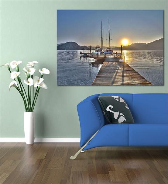 Deniz Kenarı Serisi A Kanvas Tablo 20x30 cm