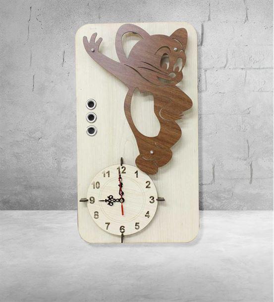 Doğum Günü Hediyesi Jerry Tasarım Duvar Saati