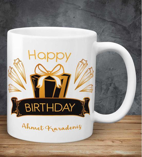 Doğum Günü Tasarımlı Kupa
