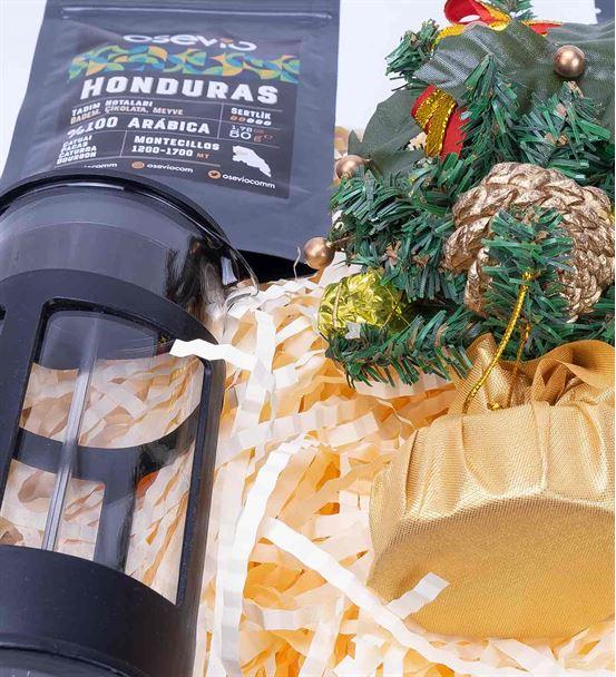 Dünya Kahveleri Yılbaşı Ağacı Hediye Kutusu