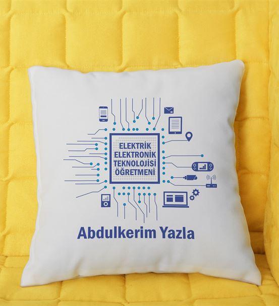 Elektrik Elektronik Teknolojileri Öğretmeni Yastık