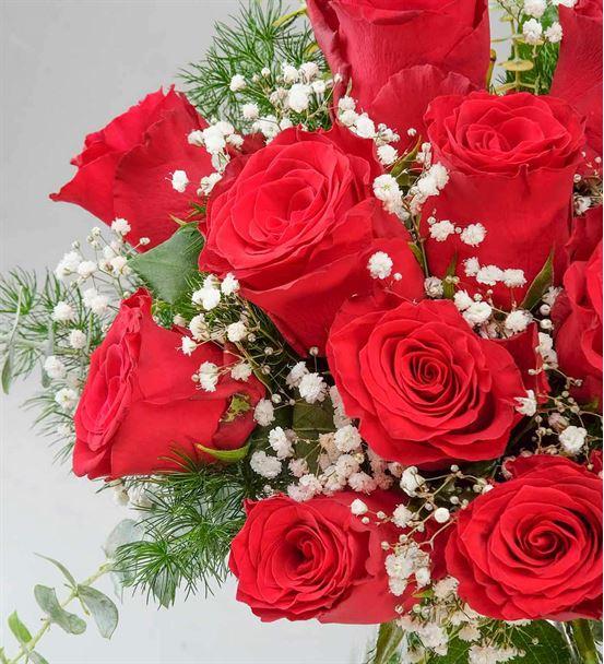 En Güzeline 11 Kırmızı Güller