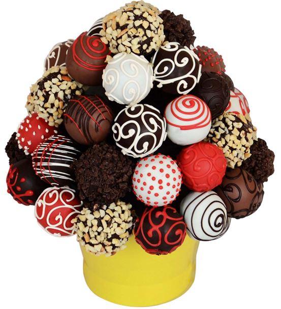 Enfes Çikolata Lezzet Topları