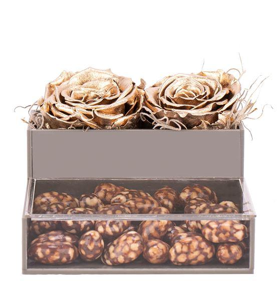 Felix Serisi Bademli Draje Çikolata - Gold